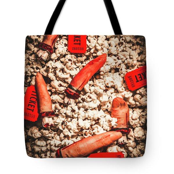 Halloween Slasher Film Tote Bag