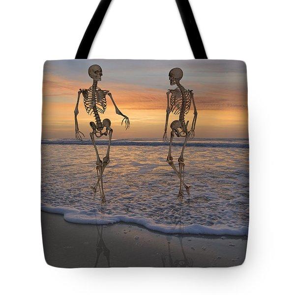 Halloween Stroll Tote Bag
