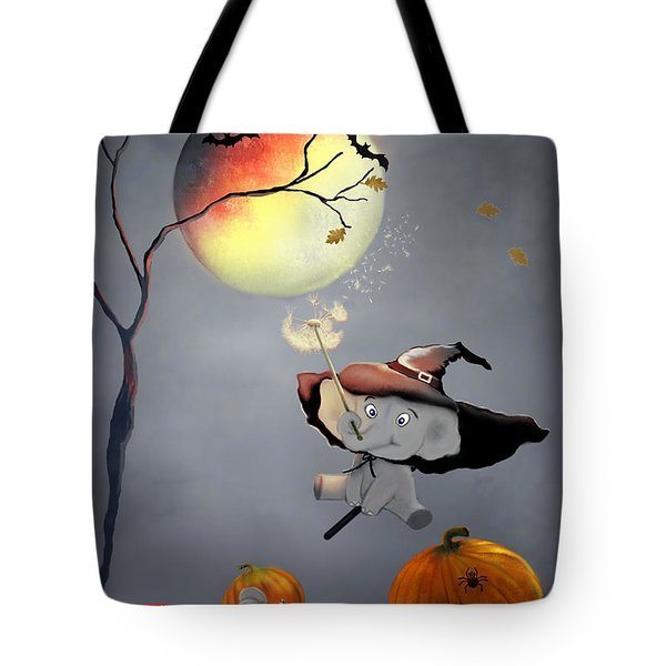 Halloween Wishes By Sannel Larson Tote Bag