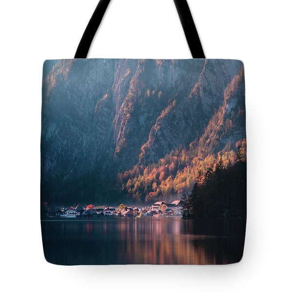 Hallstatt Fall Tote Bag