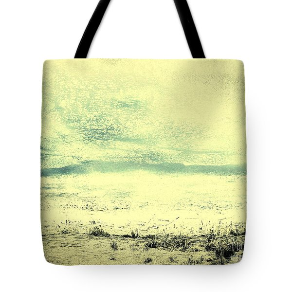 Hallucination On A Beach Tote Bag