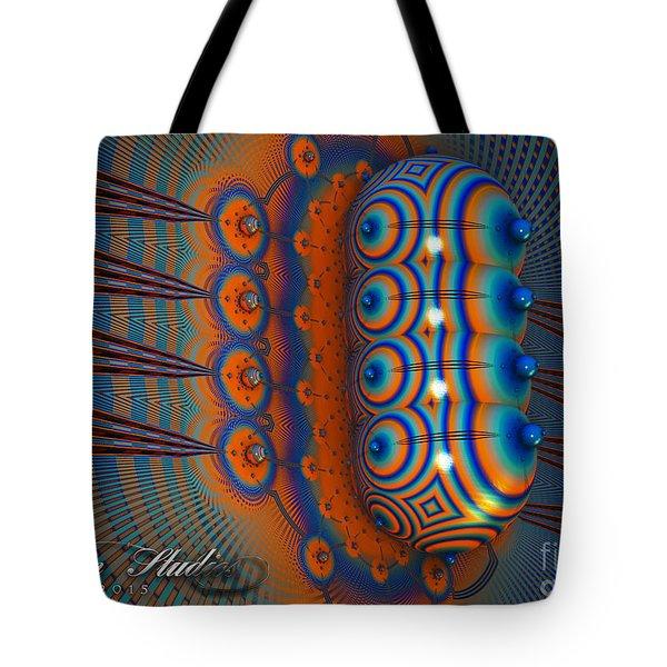 Hallucinogen Fractal Tote Bag