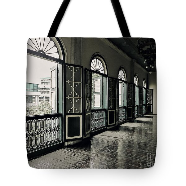 Hallway Tote Bag by Charuhas Images