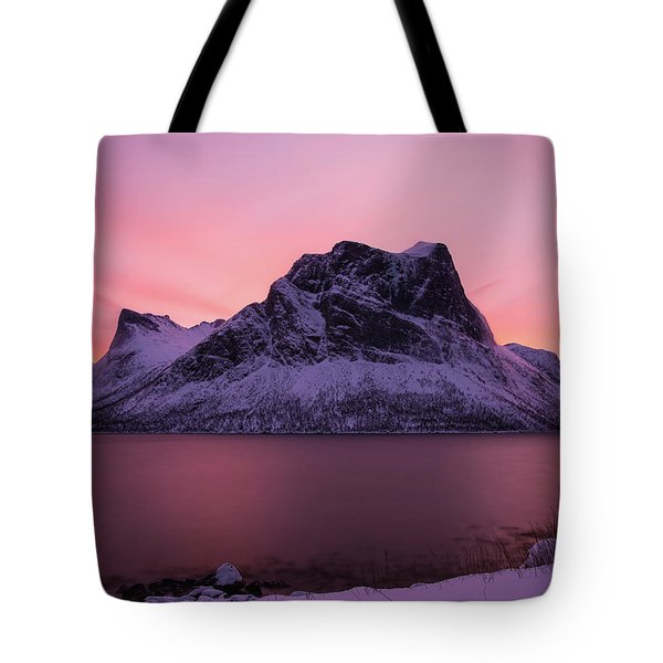 Halo In Pink Tote Bag