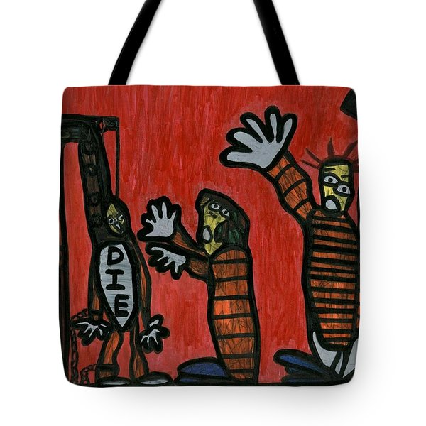 Halt The Execution Tote Bag