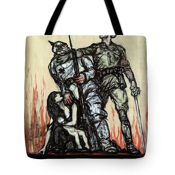 Halt The Hun - Ww1 Tote Bag