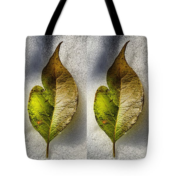Tote Bag featuring the photograph Halves by Tom Druin
