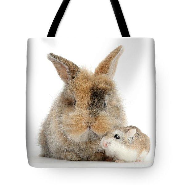 Ham And Bun Tote Bag