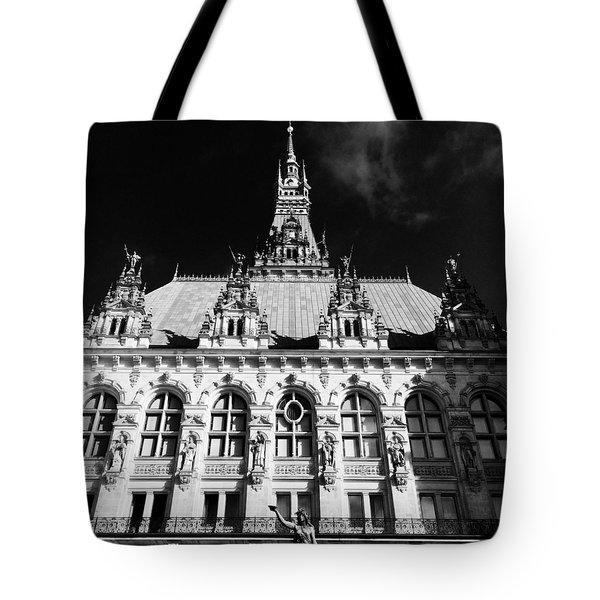 Hamburg Rathaus Tote Bag