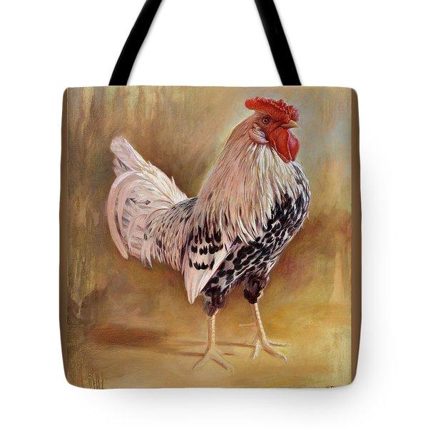 Hamburg Rooster Tote Bag