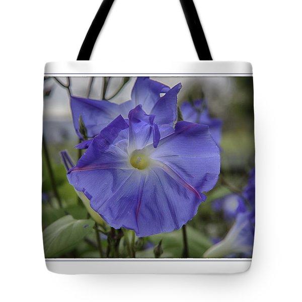 Hameau Bleu Tote Bag