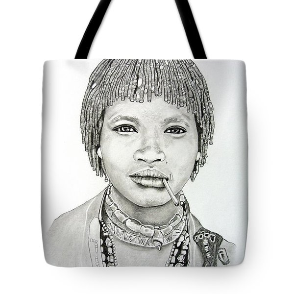 Hamer Woman Tote Bag