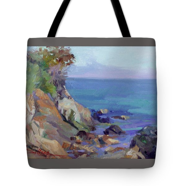 Hamilton Cove Catalina Island Tote Bag