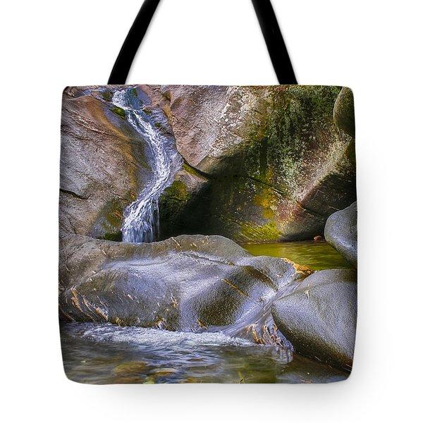 Hamilton Falls Tote Bag