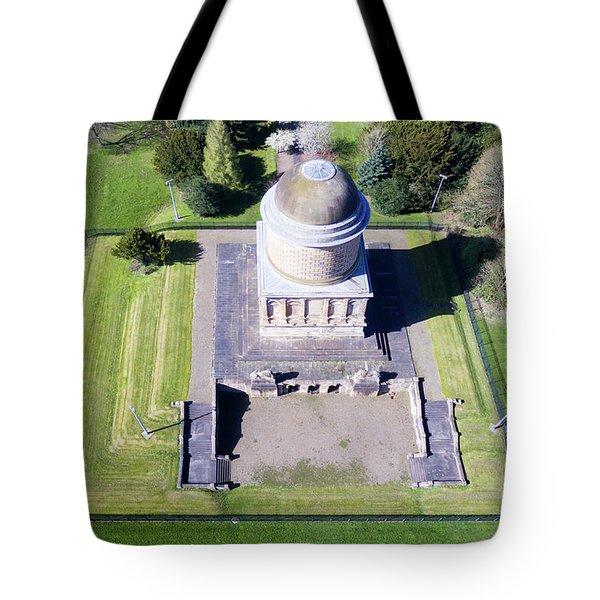 Hamilton's Knob 4 Tote Bag by Steev Stamford