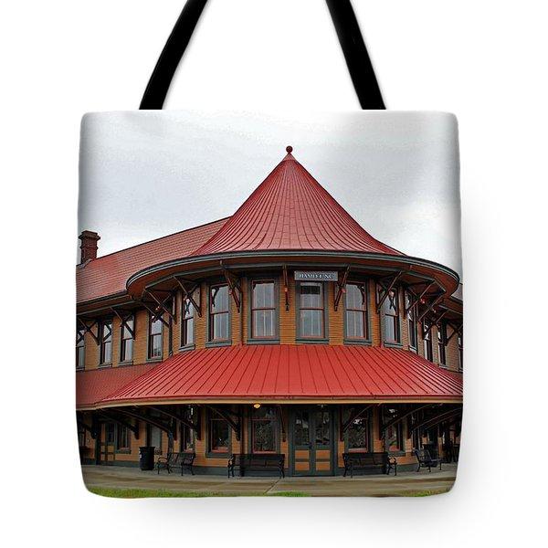 Hamlet Train Station Tote Bag