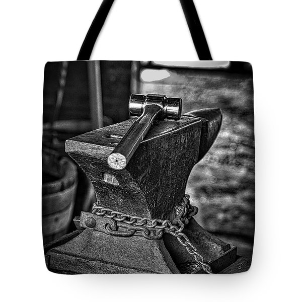 Hammer And Anvil Tote Bag