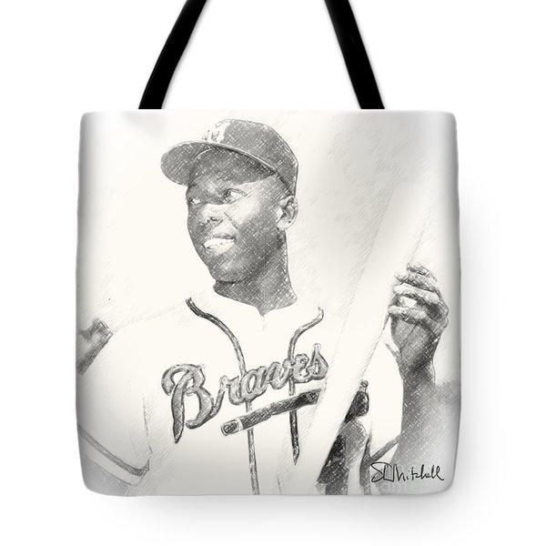 Hammerin' Hank Tote Bag