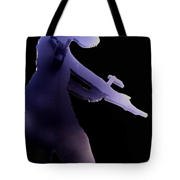 Hammering Man 2 Tote Bag by Tim Allen