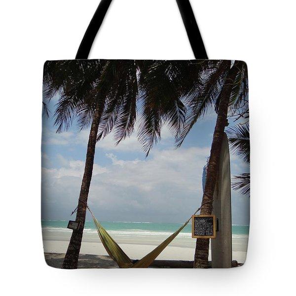 Hammock Time Tote Bag