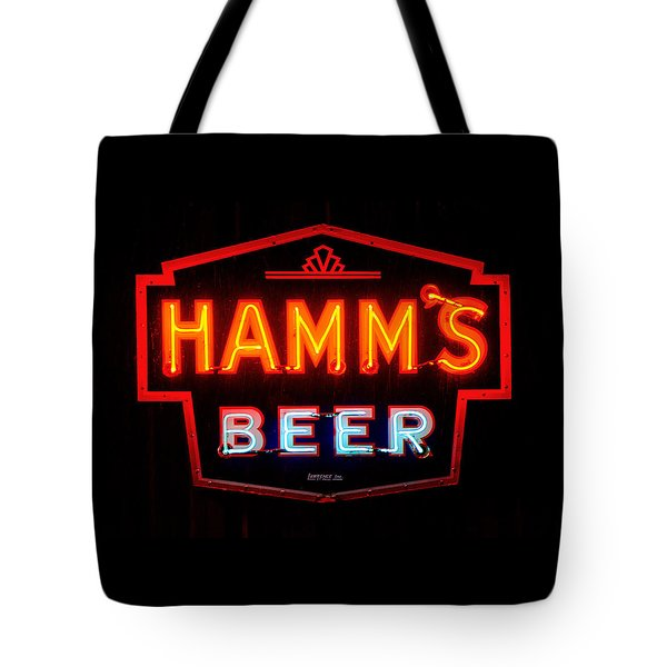 Hamm's Beer Tote Bag