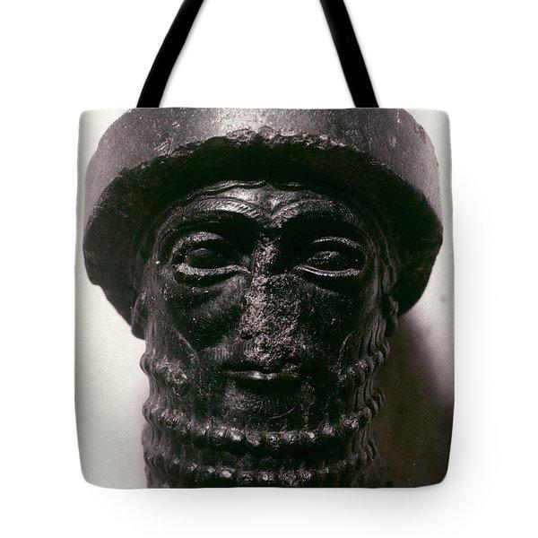 Hammurabi (d. 1750 B.c.) Tote Bag by Granger