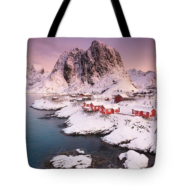 Hamnoy Tote Bag