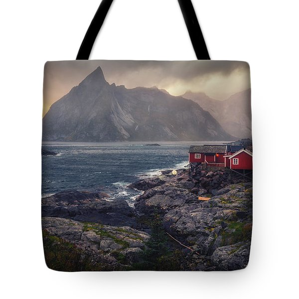 Tote Bag featuring the photograph Hamnoy by James Billings