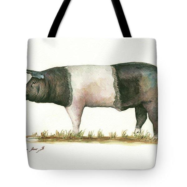 Hampshire Pig Tote Bag