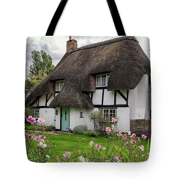 Hampshire Thatched Cottages 8 Tote Bag
