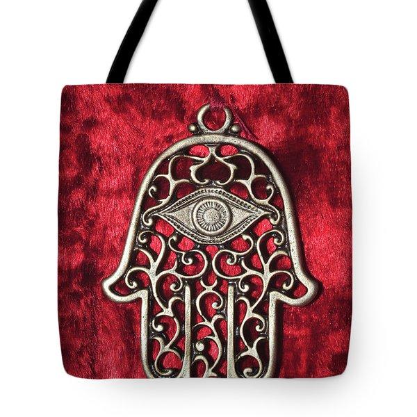 Hamsa  Tote Bag by Shay Levy