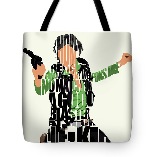 Han Solo From Star Wars Tote Bag