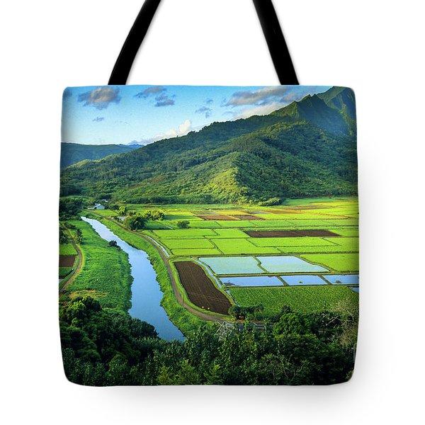 Hanalei Valley Tote Bag