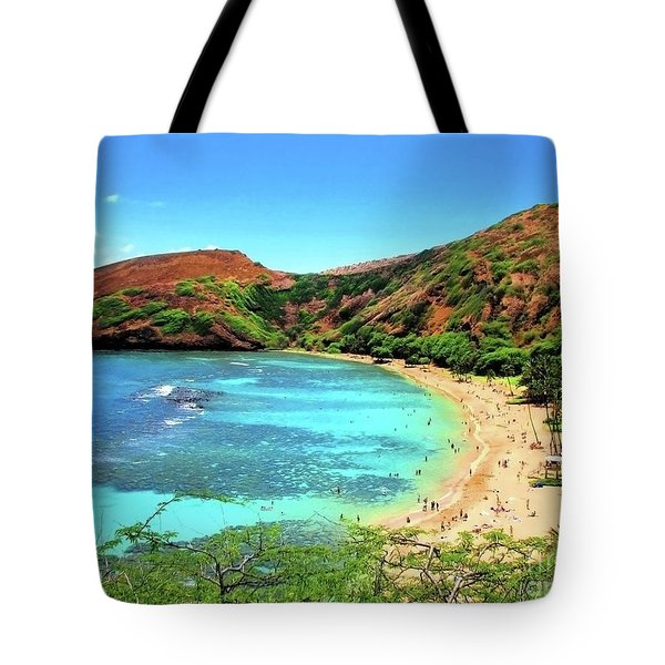 Hanauma Bay Nature Preserve Tote Bag