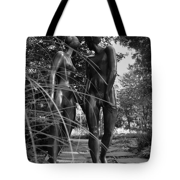 Hand In Hand Tote Bag