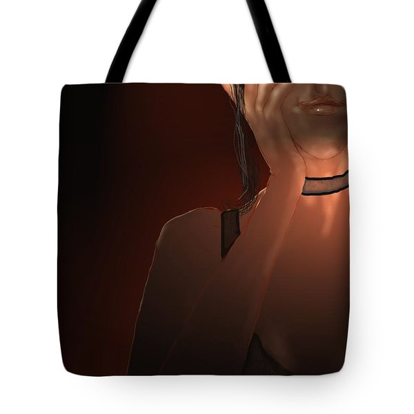 Hand Tote Bag by Kerry Beverly