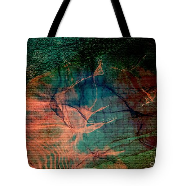 Hand Of A Healer - La Main Dun Guerisseur Tote Bag by Fania Simon