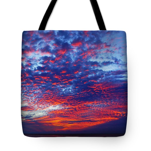 Hand Of God At Sunrise Tote Bag