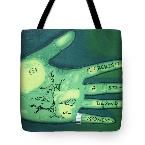 Hand Print Tote Bag