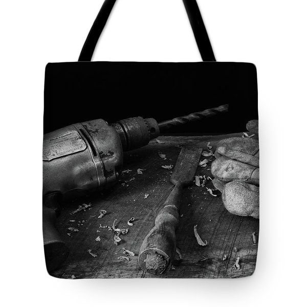 Tote Bag featuring the photograph Hand Tools 3 by Richard Rizzo