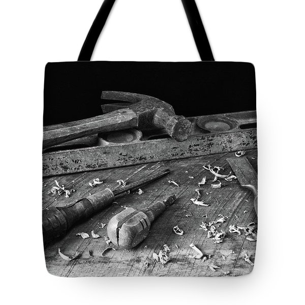 Tote Bag featuring the photograph Hand Tools 2 by Richard Rizzo