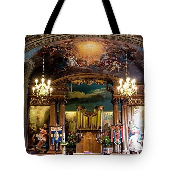 Handel's Organ Tote Bag