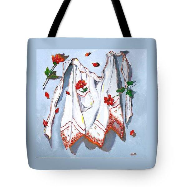 Handkerchief Apron Tote Bag