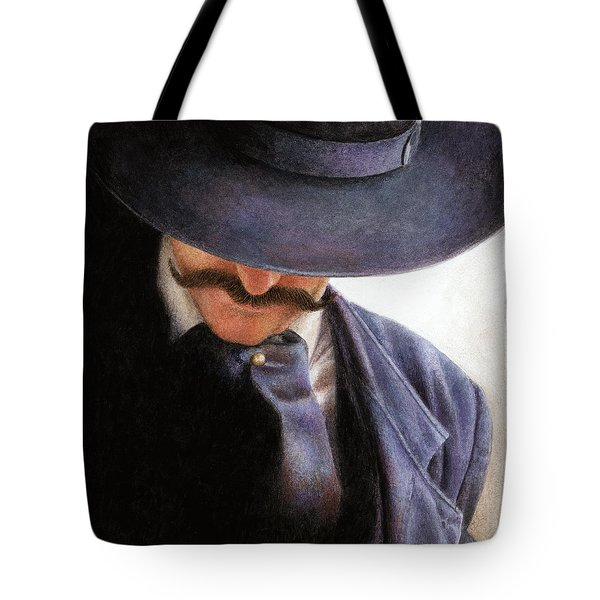 Tote Bag featuring the painting Handlebar by Pat Erickson