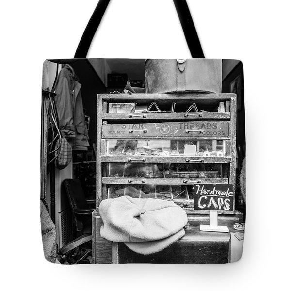 Handmade Caps Tote Bag
