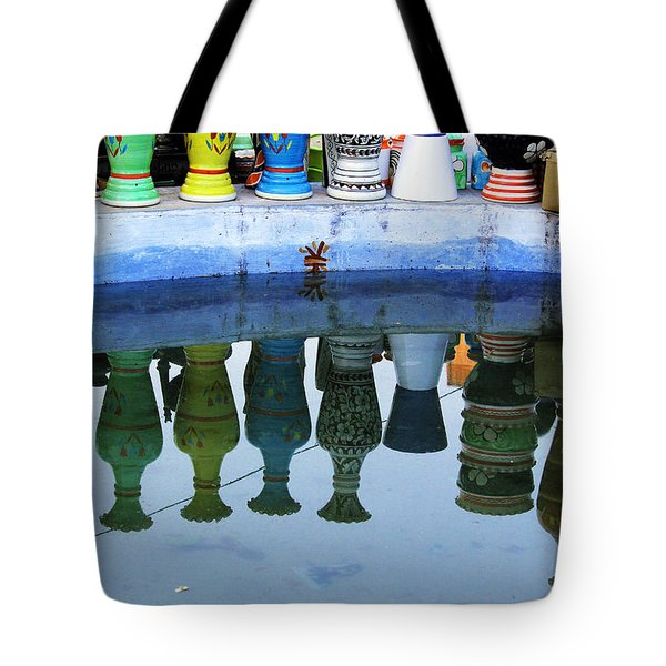 Handmade Clay Pots Tote Bag