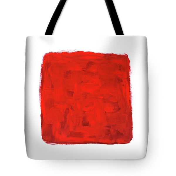 Handmade Vibrant Abstract Oil Painting Tote Bag by GoodMood Art