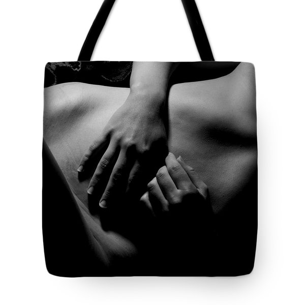 Hands At Rest Tote Bag by Joe Kozlowski