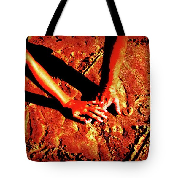 Hands In Love Tote Bag