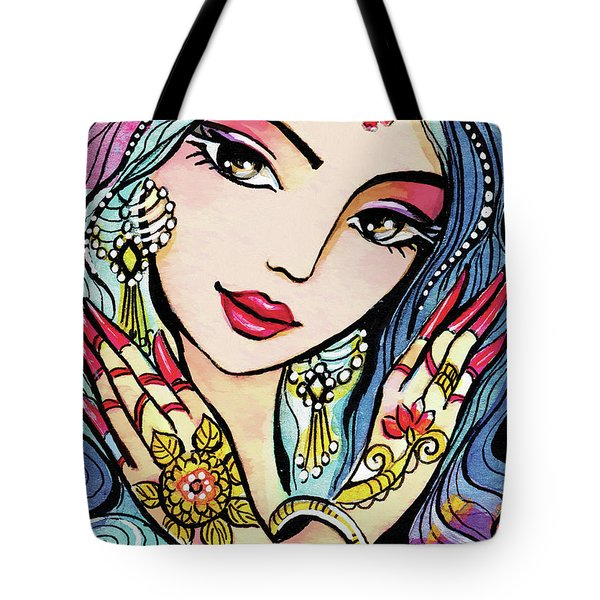 Hands Of India Tote Bag